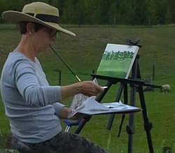 Plein Air Artist at Work